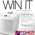 Needing some #MondayMotivation? Enter our #Free #Competition #Giveaway. #Win a Philips Breadmaker @PowerDirectUK https://t.co/tdVEnBUbYK