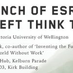 New left think tank ESRA launches this Friday in Wellington, check out our website: https://t.co/FjO9dVzvsZ https://t.co/lwkHjl9ppu