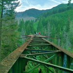 The End of the Vance Creek Bridge https://t.co/rS35TtI8Ua https://t.co/KDDXP4AtdA