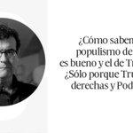 Populismo bueno https://t.co/QA8A3StbfT Javier Cercas en @elpaissemanal https://t.co/DIOH9soyb0