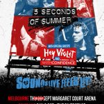 Stoked to announce that were supporting our friends in @5SOS around Australia in a few weeks! https://t.co/wwpb94q92j