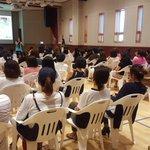 Over 100 parents came to our 1st DRAGON Dialogue about Writing Workshop! #kisj https://t.co/LbquzQLTfC