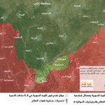 #حماة خريطة توضيحية لبعض لمناطق المحررة في ريف #حماة الشمالي https://t.co/SNLEgm20GV