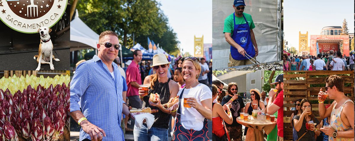 Stop by @SacFarm2Fork free festival this Sat. located in the iconic Capitol Mall: