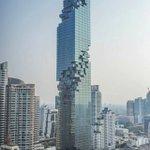 De pequeños pensábamos que el futuro sería coches volando. Casi, nuevo rascacielos en Bangkok. Photo Peerasith Kun https://t.co/mNHah3JQtb
