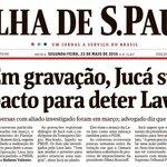 """Em sua defesa no Senado, Dilma cita o """"pacto"""" para barrar a Lava-Jato. Quantos lembram? https://t.co/KNFnHM7sgr"""