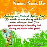 My heartiest tribute 2 hockey wizard Major Dhyan Chand on his 111th birth anniversary 2day.Happy National Sports Day https://t.co/31rRe5HiwB