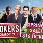 All Jokers tickets $16 for a limited time only from our website. Book now!!! https://t.co/pn0XadNufD https://t.co/2kn15hVp2W