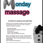 Theres a 2pm appointment available for #MondayMassage if youre around #Galway today. @NUIGSU https://t.co/LwYH0yrUny