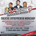 "3/9/16 10.00 ""Creativepreneur Workshop-Competition"" di XT Square 