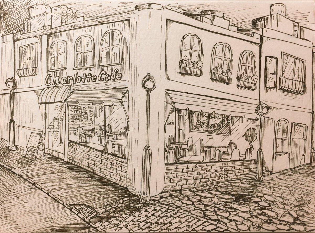 アンディスの営むカフェレストラン『Charlotte care 』