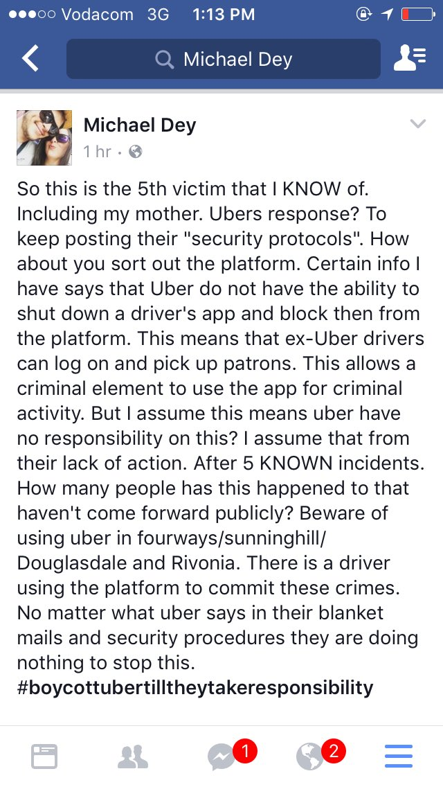 #UberAttacksSA PLEASE read this and keep safe South Africa! And read my mums story in @YouMagazine