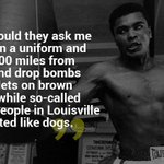 If social media existed in 1966 the rants against the beloved Ali would be identical to anti #ColinKapernick today https://t.co/rEJ7HJfplJ