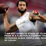 49ers QB Colin Kaepernick wont stand during the national anthem. Do you stand with him or not? https://t.co/C0x7FJX6rH