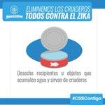 #CSSContigo Tu salud es importante para nosotros, elimina los criaderos del mosquito https://t.co/qLuFAMyWJd