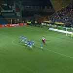 Right in the postage stamp! Check out this ridiculous free kick from @RangersFC's James Tavernier! #CrackingFitba https://t.co/SBBD74opww