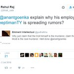 Someone who himself tag employer, crying foul after @bainjal tag his employer #Support_Bhak_Sala https://t.co/Z38sozpb5j