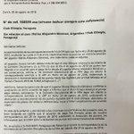 APF recibió nota de #FIFA que repone puntos a @elClubOlimpia https://t.co/jG1kuvTQsG https://t.co/uj2EBb2skB
