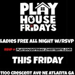 EVERY FRIDAY #EnigmaLoungeFriday  #PlayHouseFridays    Everyone FREE til 11:30   Ladies FREE All Night w/ RSVP x2  https://t.co/KdhtrekNlR