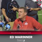 🏈🗣🎙 @4Warinner on @Nb_Eight0: Hes ready to help us. Hes made plays all camp long. Hes a vacuum cleaner. #GoBucks https://t.co/9IElK8XZeP