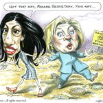 The real Huma scandal is that she arranged Hillarys #PayToPlay deals for the Clinton Foundation. #DropOutHillary https://t.co/SdMYY3gNKG