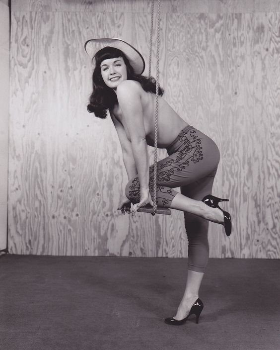 Swinging into Monday... Happy new week, y'all!! <3 #BettiePage #pinup #1950s rh5uD7D9tG