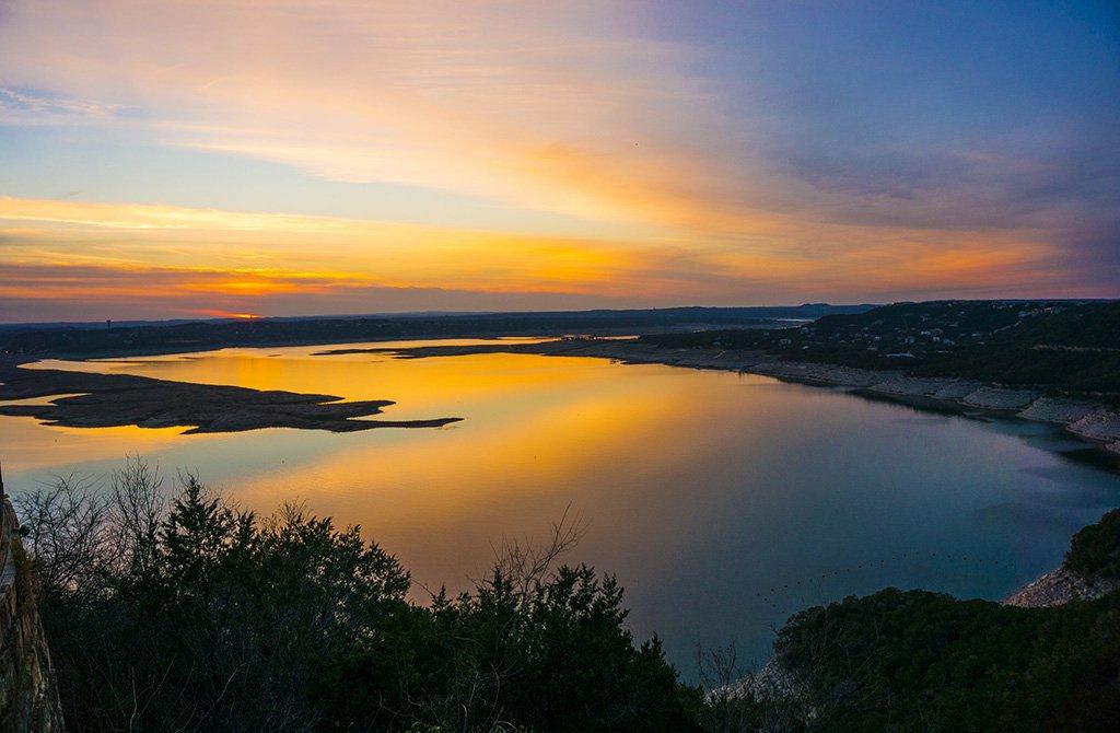 Lake Travis Sunset, Austin, #Texas | Photography by ©@AnthonyQuintano https://t.co/WUz0bxg1Kd