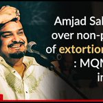 #AmjadSabri killed over non-payment of extortion money: MQM sector in-charge  Read more: https://t.co/cA9WORgJym https://t.co/PEO6oiTPJo