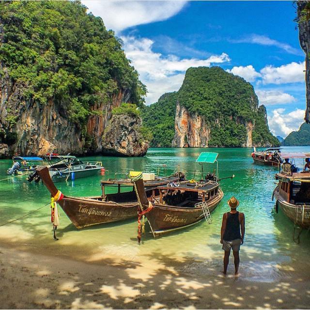 Lading Bay, Krabi, #Thailand | Photography by ©Giancarlo Trinidad Berdin https://t.co/hR4oPDaNE7