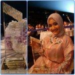 "Selamat @FatinSL meraih ""Best Asian New Female Act Award"" di Daf Bama Music Awards 2016 di Hamburg, Jerman. https://t.co/q1HRRJofOy #smg"
