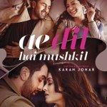 Presenting the poster of #AeDilHaiMushkil featuring Ranbir Kapoor, Anushka Sharma and Aishwarya Rai Bachchan! 😍 https://t.co/4VGmLDta8D