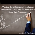"""""""Practice the philosophy of continuous improvement. Get a little better every single day."""" #MotivationMonday https://t.co/rUVLgyAMYQ"""