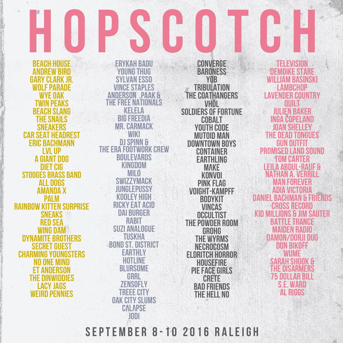 Calendar finally let's us say it: Hopscotch is next week
