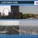 It already feels warmer than 90 in some spots with lots of sunshine around #STL! #mowx #ilwx https://t.co/mm1TOLiS6f