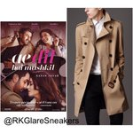 Hes here ! AYAN is wearing @Burberry trench coat in #AeDilHaiMushkil first poster #RanbirKapoor https://t.co/l7B00TkatH