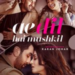 Karan Johar unveils the first look poster of his ambitious venture - #AeDilHaiMushkil... Diwali 2016 release! https://t.co/oFbP70d8sU