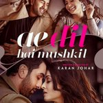 RT if you love the poster of @DharmaMovies upcoming movie #AeDilHaiMushkil... #Bollywood https://t.co/AM5hB2g7bU