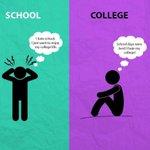 📚 Estar en la escuela VS estar en la universidad  📚 https://t.co/zCeccMrBPq