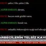 """#SONDAKİKA Darbeci hainlerin """"Erdoğanın uçağını vurun"""" emrini verdiği ses kayıtları ortaya çıktı https://t.co/o6mftXUsQO"""