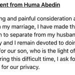 Huma is leaving Anthony https://t.co/ampKu65xJ8
