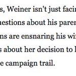 imagine this being written if Weiner were a woman and Abedin a man. https://t.co/ktsXiVxYl4