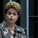 """""""Votem contra o impeachment e pela democracia"""", pede Dilma ao fim de sua defesa no Senado https://t.co/q6BtZdxwv5 https://t.co/ndUd93gMmH"""