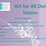 Join us Wednesday 7-9 pm @YOU_London supporting @alloursisters, raising funds for women to attend #CAEH16 #ldnont https://t.co/ia28pcy8F3