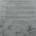 #Arroyito Opositores piden destitución de De Vargas, Ministro de Defensa, comandantes de Policía y FFAA. Vía @rutadg https://t.co/9spbsrwwr1