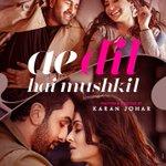 The 1st poster of #AeDilHaiMushkil wid #RanbirKapoor #AnushkaSharma & #AishwaryaRai brings bck d romance @karanjohar https://t.co/Iq1gOkzBfE