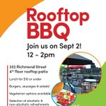 Lets make the final summer BBQ our best one yet. Enjoy gr8 food & gr8 view while supporting #ldnont #youth #socent https://t.co/Egc3vXivAt