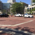 NW quadrant of Monument Circle is blocked after police say a suspicious package was found outside of Anthem @rtv6 https://t.co/kWneelm1KO