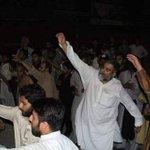 Brave leader @AllamaRajaNasir in Azadari-e-Hussain(as) procession at Islamabad. Azadari is our life. #NoBanOnAzadari https://t.co/0ljt1rbSER