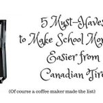 5 Must-Haves to Make School Mornings Easier from Canadian Tire #CTBackToSchool #BackToSchool https://t.co/eVT05EnGWY https://t.co/MrNCoR7bjm