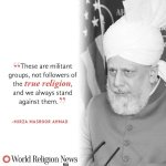 Words from the True Khalifa of Islam in regards to the true teachings of Islam which are of peace #SaveHumanity https://t.co/zpS84DIXzW